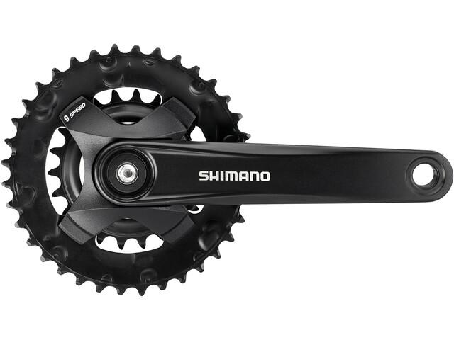 Shimano FC-MT101-B Kurbelsatz 2x9-fach 36-22Z schwarz